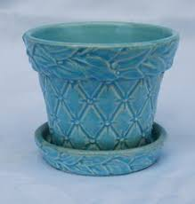 McCoy flower pots I have several in different colors Love them