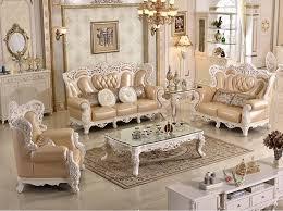 intérieur et canapé antique classique bois de meubles salon canapé moderne en cuir