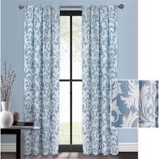 better homes and gardens damask curtain panel walmart com