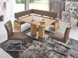 niehoff melina dekorative eckbank sitz und rücken vollgepolstert sitzbank für esszimmer oder wohnzimmer dekorausführung stellvariante und bezug