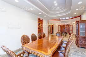 luxus helle villa esszimmer innenarchitektur stockfoto und mehr bilder antiquität
