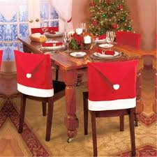 Buy Luweki Santa Red Hat Chair Covers Christmas Decorations ... Christmas Decoration Chair Covers Ding Seat Sleapcovers Tree Home Party Decor Couch Slip Wedding Table Linens From Waxiaofeng806 542 Details About Stretch Spandex Slipcover Room Banquet Dcor Cover Universal Space Makeover 2 Pc In 2019 Garden Slipcovers Whosale Black White For Hotel Linen Sofa Seater Protector Washable Tulle Ideas Chair Ab Crew Fabric For Restaurant Usehigh Backpurple