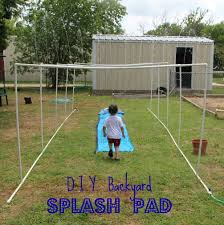 Diy Backyard Splash Pad   Outdoor Furniture Design And Ideas 38 Best Portable Splash Pad Instant Images On Best 25 Backyard Splash Pad Ideas Pinterest Fire Boy Water Design Pads 16 Brilliant Ideas To Create Your Own Diy Waterpark The Pvc Pipe Run Like Kale Unique Kids Yard Games Kids Sports Sports Court Pads For The Home And Rain Deck Layout Backyard 1 Kid Pool 2 Medium Pools Large Spiral 271 Gallery My Residential Park Splashpad Youtube