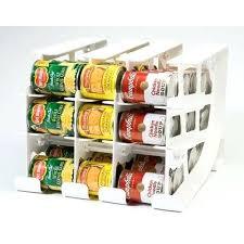Food Storage Organizers Can Tracker Organizer Pantry Rotation Up