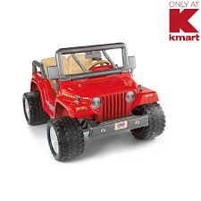 Power Wheels Red Jeep Rubicon - KMART EXCLUSIVE! | Shop Your Way ... Amazoncom Kids 12v Battery Operated Ride On Jeep Truck With Big Rbp Rolling Power Wheels Wheels Sidewalk Race Youtube Best Rideontoys Loads Of Fun Riding Along In Their Very Own Cars Kid Trax Red Fire Engine Electric Rideon Toys Games Tonka Dump As Well Gmc Together With Also Grave Digger Wheels Monster Action 12 Volt Nickelodeon Blaze And The Machine Toy Modded The Chicago Garage We Review Ford F150 Trucker Gift Rubicon Kmart Exclusive Shop Your Way Kawasaki Kfx 12volt Battypowered Green
