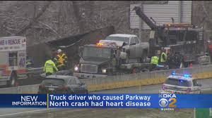 Driver Who Caused Parkway North Crash Died From Heart Disease « CBS ... Overturned Tractor Trailer Slows Traffic On Parkway North I10 In South Texas 212 8 An Eagle Eye For Overheight Vehicles Herald Community Newspapers Update Truck Crash On Golden Valley Knocks Out Local Phones Santa Mobile Tv Group Rolls Out Latest Byside Dualfeed With Traffic Tractor Trailer Blocks Part Of Update Details Released Hal Rogers Crashes Slow Hutchinson River I87 I287 Small Tanker With Slide Off West Lake Smamish Natchez Trace News Release No Trucks Forest Park Georgia Clayton County Restaurant Attorney Bank Dr