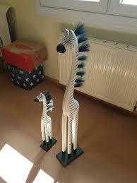 deko figuren zebra top afrika deko wohnzimmer