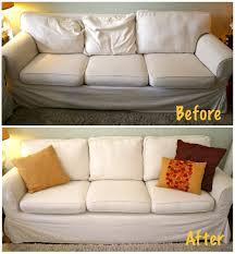 sofa cushions ikea how to restuff ikea rp sofa cushions easy and