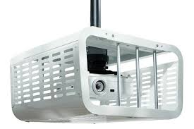 Peerless Ceiling Mount Projector by Peerless Pe1120 Projector Security Cage In Black Full Compass