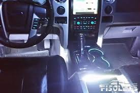 F150 LED Interior Ambient Light Kit W/ Wireless Intensity Controller ...