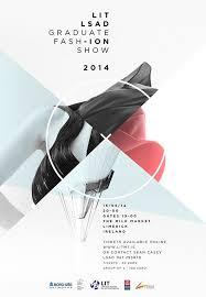 LIT LSAD Fashion Graduate Show 2014 Poster