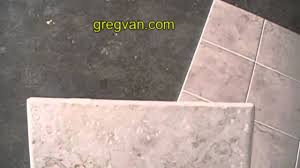 Groutless Porcelain Floor Tile by 1 16 Of An Inch Grout Spacing Ceramic Tile Instructions Youtube