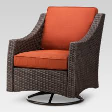 Belvedere Wicker Swivel Rocker Patio Club Chair - Navy - Threshold ...