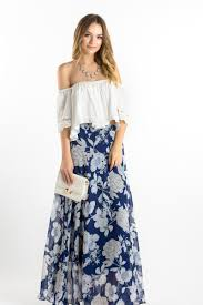 navy floral maxi skirt maxi skirts to spring what to wear as a
