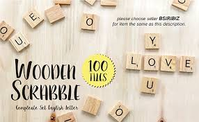 amazon com scrabble tiles 100 letter tiles toys games