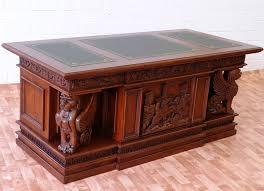 bureau de style napoléon en acajou massif meubles de style