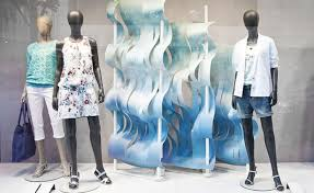Esprit Spring Ocean Window Display