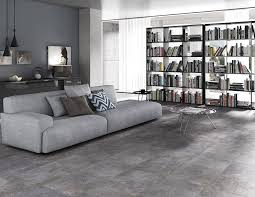 Tile That Looks Like Concrete For Dining Room And Living