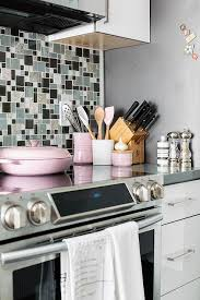 Pink Kitchen Accents