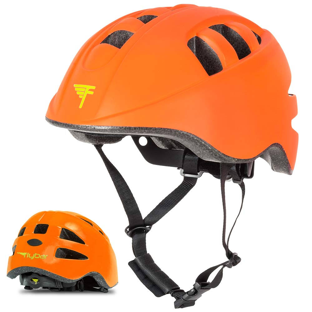 Flybar Junior Sports Helmet Medium Orange, Kids Unisex