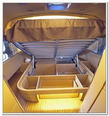Storage Solutions For Travel Trailers Trailer Home Design Ideas