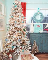 9 Ft Flocked Pencil Christmas Tree by Snowy Spruce Flocked Artificial Christmas Tree Treetopia