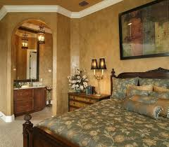 Gold Bedroom Paint A Warm And Elegant Master With Painted Walls Green