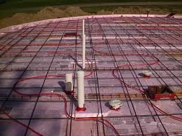 Pex Radiant Floor Heating by Building The Superinsulated Geodesic Dome