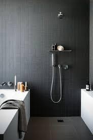 prepossessing gray slate bathroom tile in interior home design