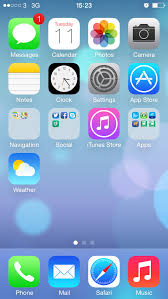 How to set an animated background wallpaper in iOS 7