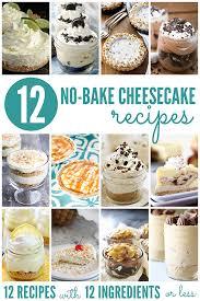 easy no bake dessert recipes easy no bake coffee cheesecakes recipe