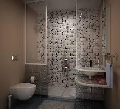 bathroom picture of small modern bathroom design using black