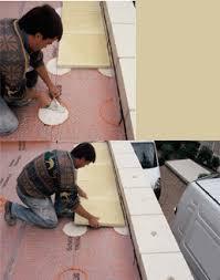 pose de carrelage exterieur sur chape beton evtod