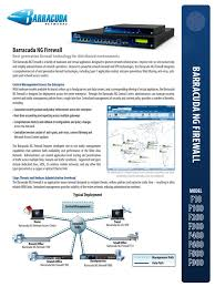 Barracuda NG Firewall DS US | Firewall (Computing) | Virtual ...
