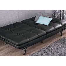 Walmart Contempo Futon Sofa Bed by Mainstays Memory Foam Futon Multiple Colors Walmart Com