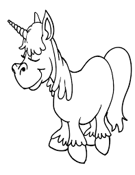 Free Printable Unicorn Coloring Pages For Kids Images