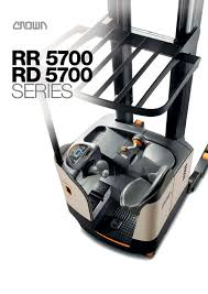 RR 5700 Reach Forklift - CROWN - PDF Catalogue | Technical ... Ces 20648 Crown Rr2035 Reach Electric Forklift 210 Coronado Used Raymond R40tt Stand Up Deep Narrow Aisle Walk Behind Truck Hire For Rd5280230 Double 2002 400 Triple Mast Lift Schematics Wiring Diagrams How Much Does Do Forklifts Cost Getaforkliftcom 3wheel Rc 5500 Crown Pdf Catalogue Action Trucks Full Cabin For C5 Gas Forklift With Unrivalled Ergonomics And Esr4500 Reach Truck Year 2007 Sale Mascus Usa Order Picker Sp Equipment Toyota Reachtruck Fleet Management Png