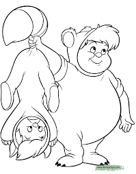 Peter Pan Coloring Pages Tinker Bell Disney Book Free Online