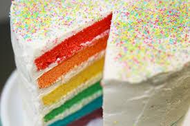 recette de cuisine cake recette du rainbow cake ou gâteau arc en ciel facile avec hervé