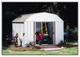 arrow galvanized steel storage shed 10x8 arrow dakota shed dk108