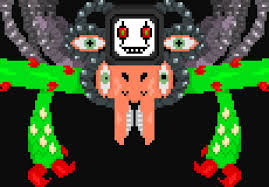Undertale Omega Flowey Sprite By Ender101theartist