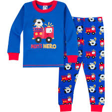 2-Piece Boys Firetruck Snug Fit PJs – Gerber Childrenswear