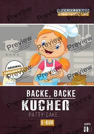 backe backe kuchen for instrument piano by traditional sheet pdf file to
