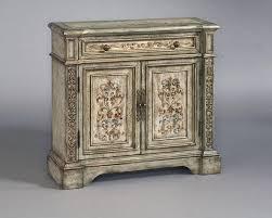 Pulaski Glass Panel Display Cabinet by Pulaski Hand Painted Hall Chest Pf 516051