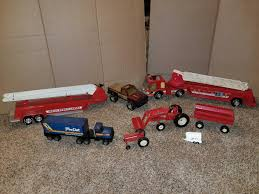 Lot Of Vintage Metal Nylint And Ertl Trucks; ...   WHITEFORD ... Vintage Nylint True Value Hdware Semi Toy Truck Trailer Pressed Harleydavidson Motor Oil Tanker Truck Repurposed Box Garage Scolhouse Toys Steel Trucks Hakes Cadet Camper And Pickup Boxed Pair Nylint Hash Tags Deskgram Nylint Safari Hunt Metal With Virtu Acquisition Ford 9000 Dump Youtube Hydraulic Vintage Findz Page 2 Hisstankcom Hobbies Manufacture Find Products Online At