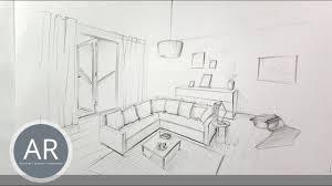 räume mit einrichtung ganz einfach in perspektive zeichnen lernen workshops für raumausstatter