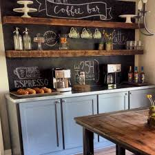 32 Awesome DIY Mini Coffee Bar Design Ideas For Your Home DIY Home