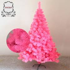 Weedoo XMAS SALE 18m 6ft Pink Artificial Luxury Christmas Tree Pvc