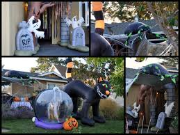 Halloween Airblown Inflatable Lawn Decorations by Inflatable Halloween Decorations U2013 Gardening Nirvana