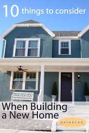 Things To Consider When Building New Home